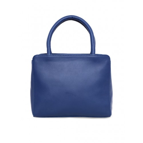 yelloe Blue Polyurethane Solid Handheld Bag