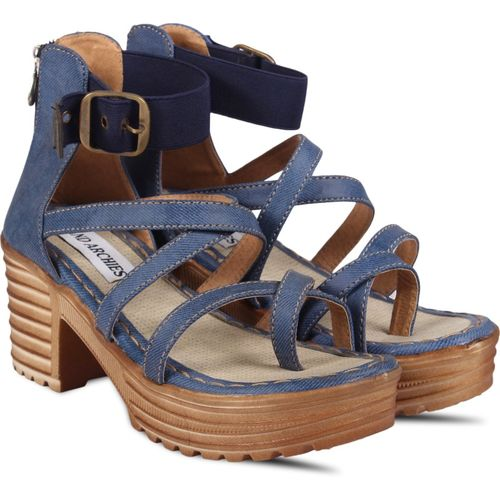 Anand Archies Women Blue Heels