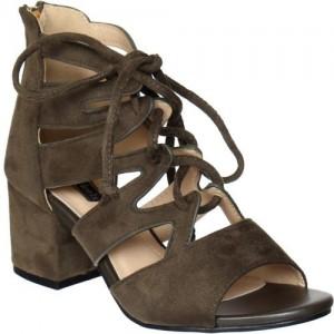 Flat n Heels Women Green Heels