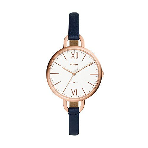 Fossil Analog Silver Dial Women's Watch - ES4355