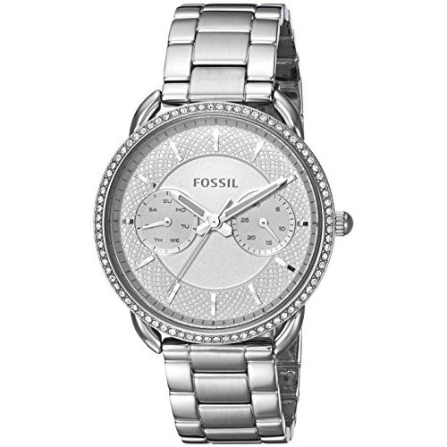 Fossil Tailor Analog Silver Dial Women's Watch-ES4262