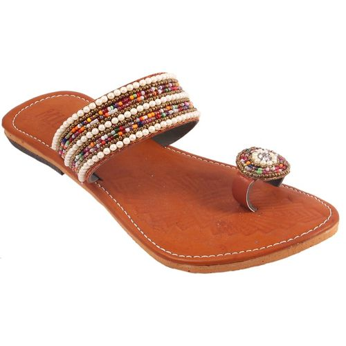 AMAZING TRADERS Women Copper Color Flats
