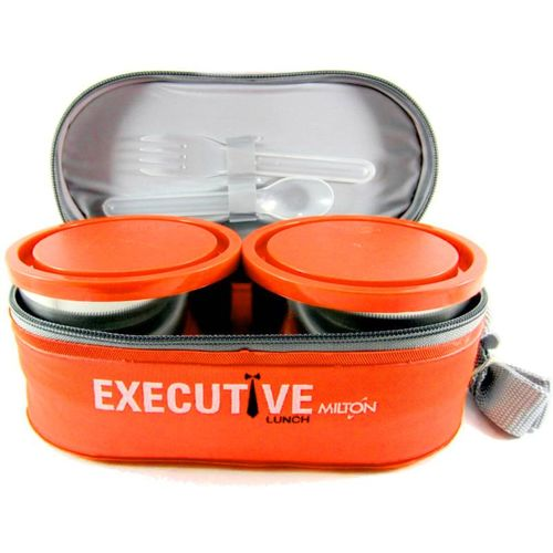 Milton EXECUTIVE LUNCH 3 Containers Lunch Box(500 ml)