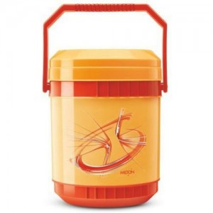 Milton Insulated Tiffin With Leak Lock 3 Containers Lunch Box(600 ml)