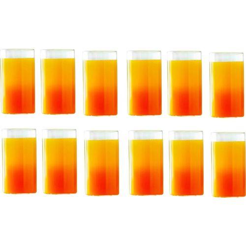Borosil Combo of Vision Medium Size Glasses, 295 ml, Set of 6 Glass Set(Glass, 330 ml, Clear, Pack of 2)