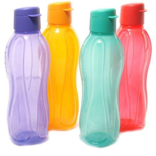 Tupperware Aquasafe Fliptop 500 ml Bottle(Pack of 4, Multicolor)
