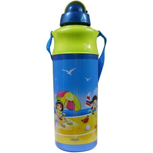 Milton Kool Spark 500 490 ml Bottle(Pack of 1, Green, Blue)