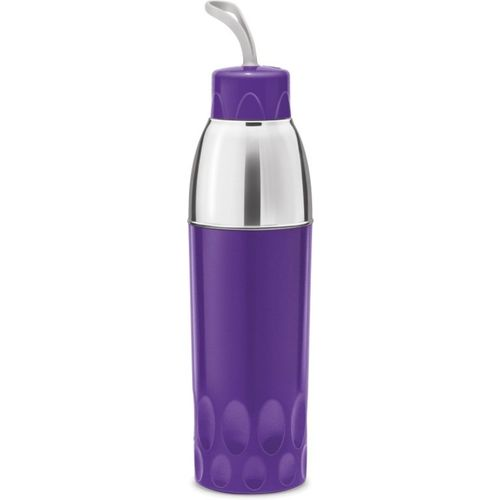 Milton Zippy 700 Insulated Water Bottle Ideal For Kids And office Use 650 ml Bottle(Pack of 1, Purple)