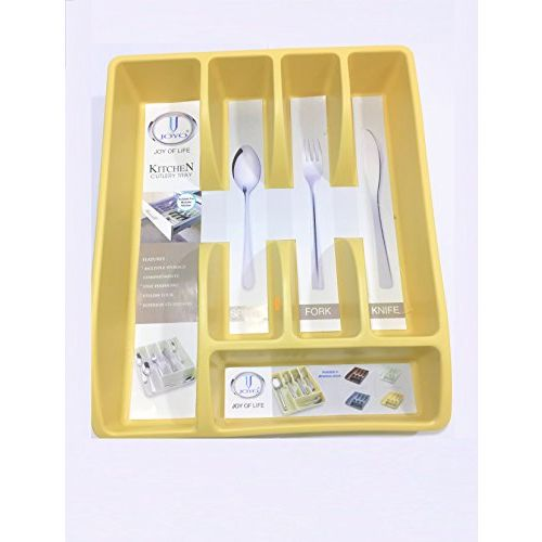 MILESTOUCH - Kitchen Cutlery Organizer, Cutlery Tray, Modular Kitchen Organizer for Spoon, Fork, Knives, Hand Beater