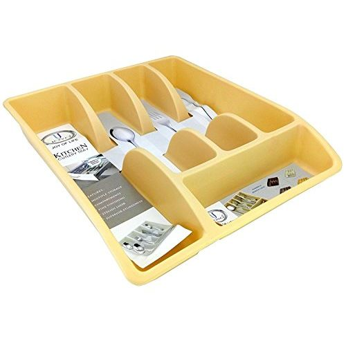 MILESTOUCH - Kitchen Cutlery Organizer, Cutlery Tray, Modular Kitchen Organizer for Spoon, Fork, Knives, Hand Beater
