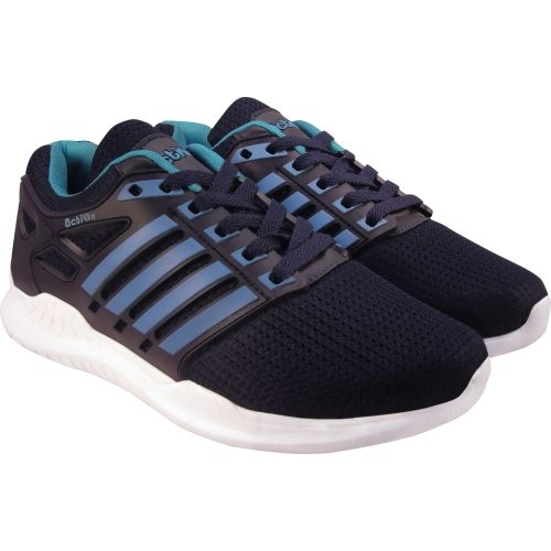 Action Synergy Men's RE0051 Navy Blue Sky Sports Running Shoes For Men