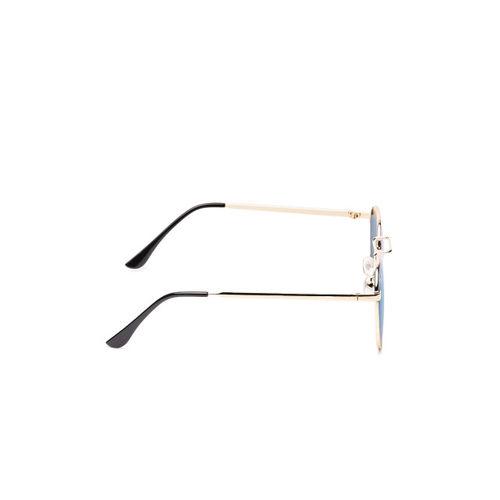 Floyd Unisex Oval Sunglasses 909_GOLD_DRK_ICE