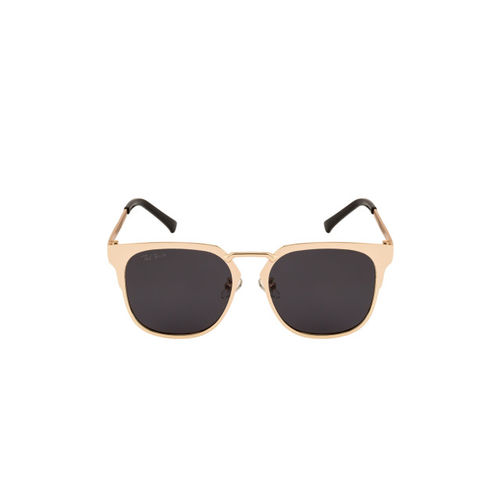 Ted Smith Unisex Grey Wayfarer Sunglasses TS-P0724_GLD/GRY