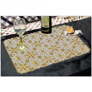 Kuber Industries PVC 6 Piece Placemat Set - Multicolour