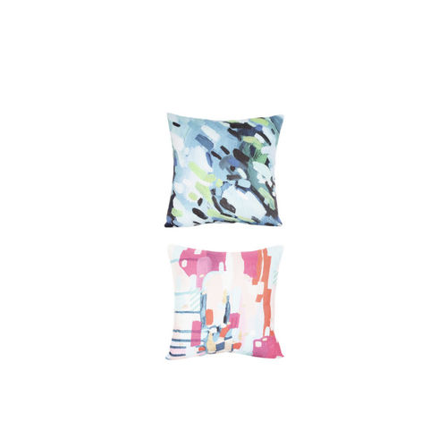 Alina decor Multicoloured Set of 5 Abstract Square Cushion Covers