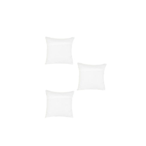 Alina decor White Set of 5 Ethnic Motifs Square Cushion Covers
