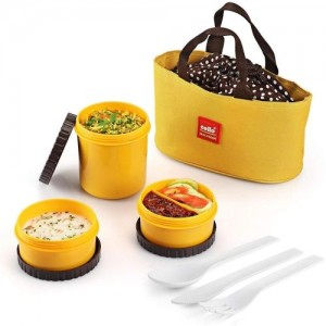 Cello Food Link 3 Containers Lunch Box
