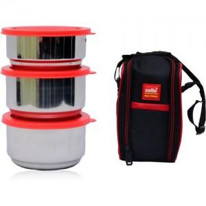 Cello MAXFRESH THERMI LUNCH 3 3 Containers Lunch Box