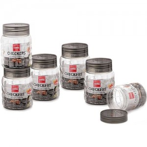 Cello 300 ml Plastic Tea Coffee & Sugar Container, Grocery Container, Pickle Container & Salt Pepper Container, Fridge Container