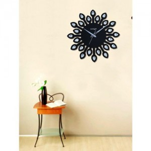 RANDOM Black Dial Jewel 30 cm Analogue Wall Clock