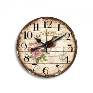 RANDOM Designer Multicolured Analogue 29.2 cm x 29.2 cm Wall Clock