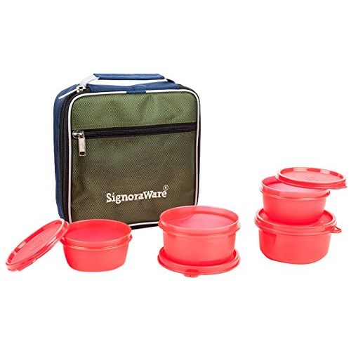 Signoraware Fresh Lunch Box with Bag