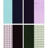 Gwalior Multicolour Poly Blend Suiting And Shirting Combo - 25 Pairs