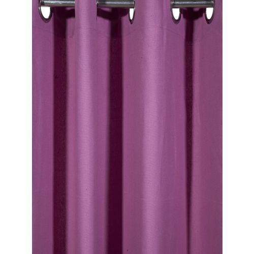 Lushomes Lavender Solid Door Curtain