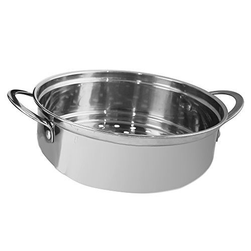 Wonderchef Prato 63152694 1.6-Liter Multi-Cook Kettle with Steamer (Black/Silver)