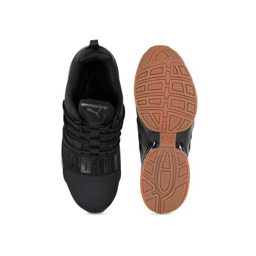 Puma Cell Regulate Nature Tech Black Running Shoes