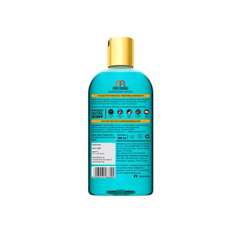 Man Arden Unisex Energizing Luxury Shower Gel-300 ml