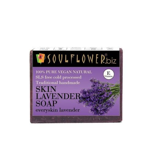 Soulflower Skin Lavender Unisex Soap