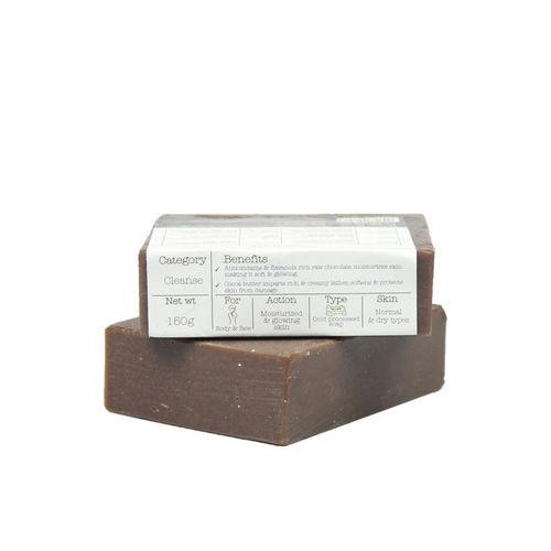 Soulflower Unisex Moisturizing Milk Chocolate Soap