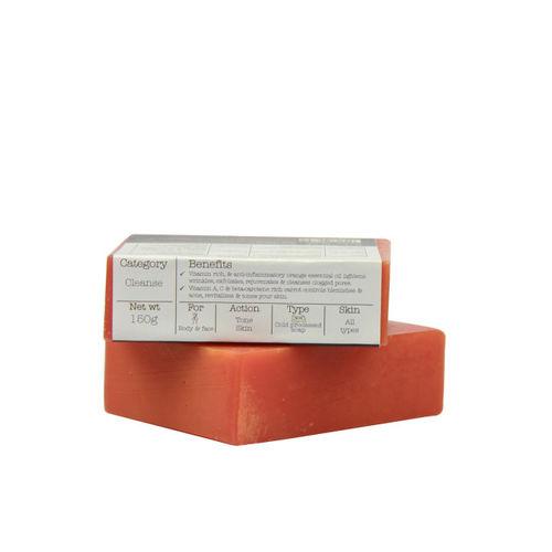 Soulflower Unisex Orange Carrot Soap Soap