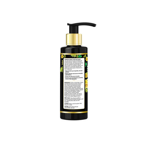 Oriental Botanics Activated Charcoal Bright Glow Face Wash 200ml