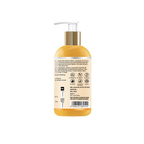 St.Botanica Sunrise Brightning Facial Cleanser Face Wash 200ml