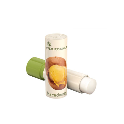 YVES ROCHER Unisex Lip Balm Nourishing Macadamia 4.8 g