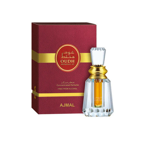 Ajmal Men Oudh Mukhallat Concentrated Perfume Free From Alcohol 6ml