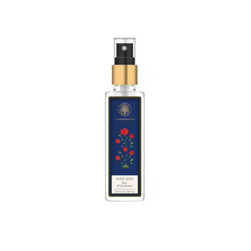 Forest Essentials Unisex Rose & Cardamom Body Mist