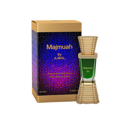 Ajmal Unisex Majmua Concentrated Oriental Perfume Free From Alcohol 10ml