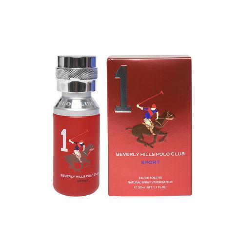 Beverly Hills Polo Club Sport Men Eau De Toilette No 1 Natural Spray