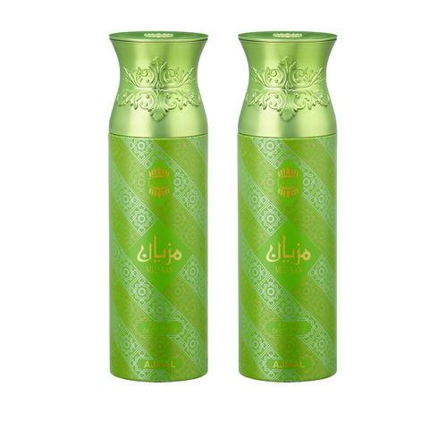 Ajmal Mizyaan & Mizyaan Unisex Set of 2 Deodorants Spray