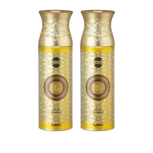 Ajmal Unisex Aatifa & Aatifa Pack of 2 Deodorants