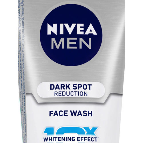 Nivea Men Dark Spot Reduction Face Wash With 10X Whitening Effect 100g