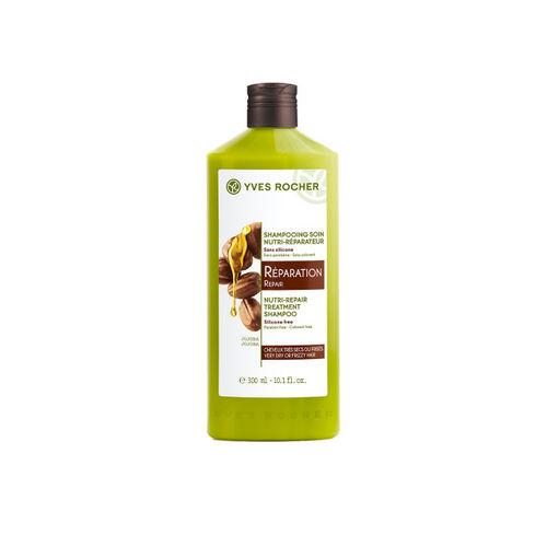 YVES ROCHER Repair Nutri-Repair Treatment Shampoo For Very Dry or Frizzy Hair 300 Ml