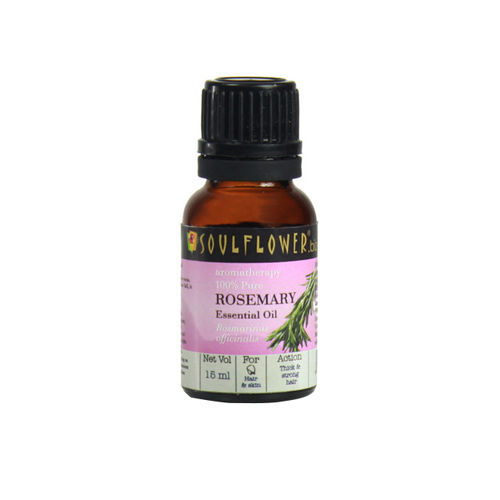 Soulflower Rosemary Essential Oil 15ml