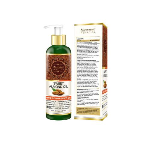 Morpheme Remedies Pure Coldpressed Sweet Almond Oil 120ml