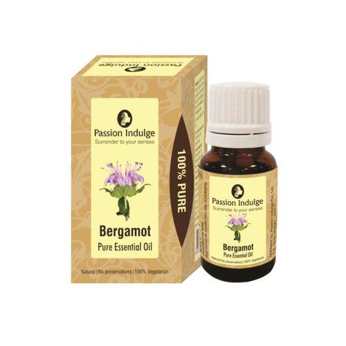Passion Indulge Unisex Maroon Bergamot Pure Essential Oil 10 ml
