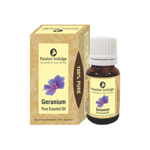 Passion Indulge Unisex Geranium Pure Essential Oil 10 ml