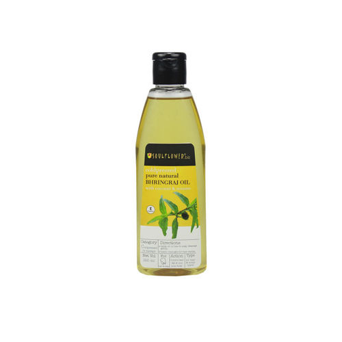 Soulflower Natural Bhringraj Oil With Coconut & Sesame